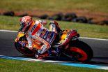 MotoGP | MotoGPオーストラリアGP:時速300キロのハードクラッシュ。マルケス「少しだけレイトブレーキングだった」