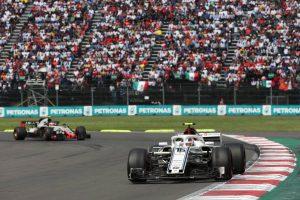 2018年F1第19戦メキシコGP シャルル・ルクレール