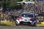 ラリー/WRC | トヨタ・ヤリスWRCが新城ラリーでデモランへ。2017年レギュラーのハンニネンがドライブ担当