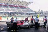 F1 | 2019年F1フル参戦を前に、ジョビナッツィがザウバーでテスト。タイヤ開発作業を担当
