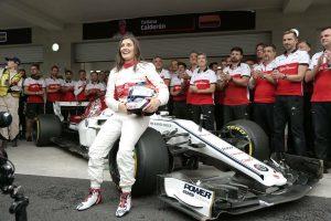 F1 | タチアナ・カルデロンがF1初走行