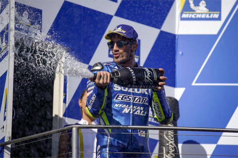 MotoGP | MotoGP:スズキのイアンノーネ「僕たちはトップレベルに限りなく近い位置にいる」