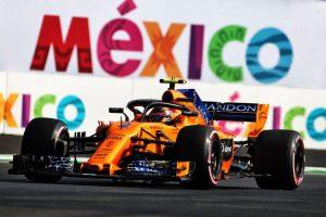 2018年F1第19戦メキシコGP ストフェル・バンドーン