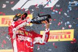 2018年F1第18戦アメリカGPで優勝したキミ・ライコネン