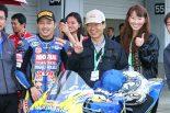 全日本ロードレースで11年ぶりに優勝した清成龍一(KYB MORIWAKI MOTUL RACING)