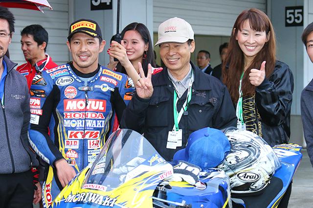 MotoGP | モリワキの清成龍一が路面コンディションを読み切り11年ぶり優勝/全日本ロードJSB1000最終戦レース2