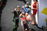 MotoGP   MotoGP:マルケス、ロッシを追い「限界まで攻めた」/マレーシアGP決勝トップ3コメント