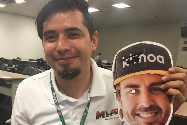 F1 | 【あなたは何しに?】メキシコGPに現れたもうひとりのフェルナンド・アロンソ