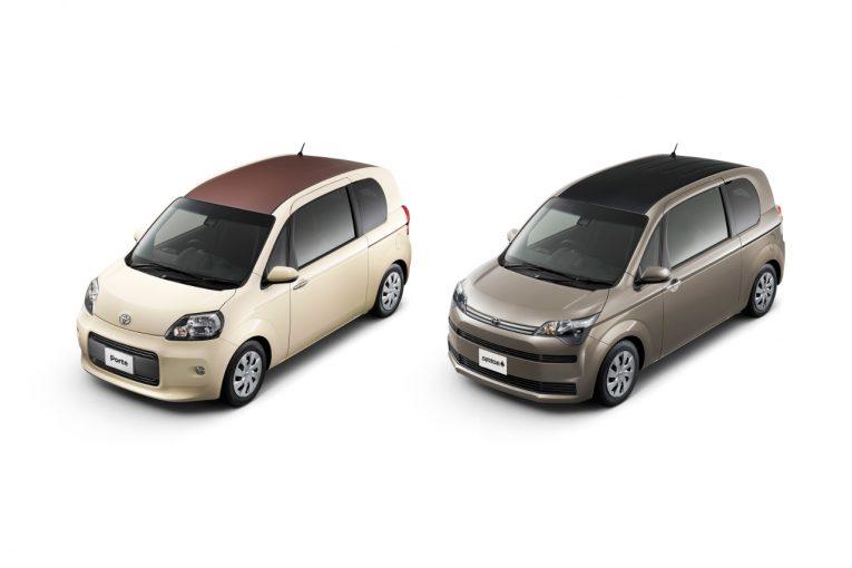 クルマ | トヨタ、『ポルテ』『スペイド』に上質感を高めた特別仕様車を設定。197.9万円から