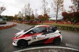 ラリー/WRC | 全日本ラリー:TGRヴィッツがクラス2位表彰台。「手強いライバルを相手にいい内容で戦えた」
