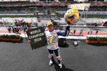 2018年のMoto3クラスチャンピオンに輝いたホルヘ・マルティン(ホンダ)
