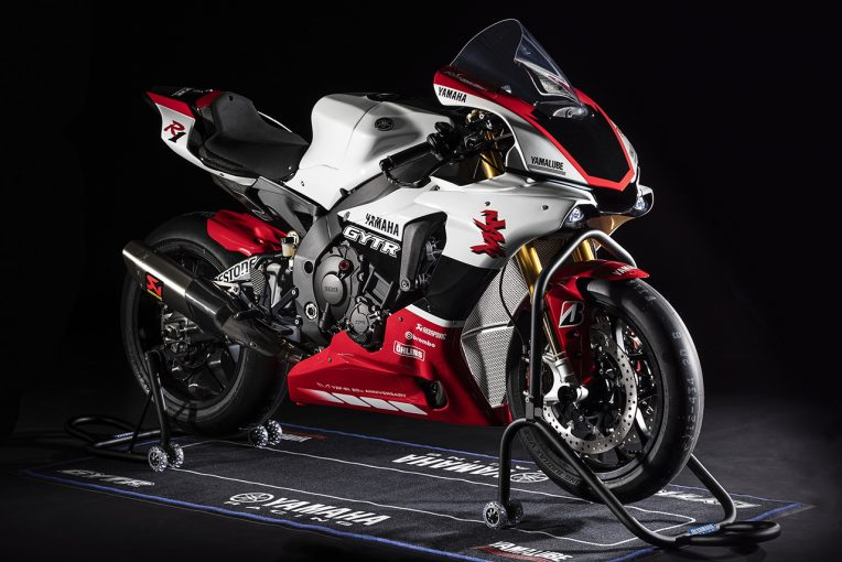 MotoGP | ヤマハ、YZF-R1の20周年記念限定モデル『YZF-R1 GYTR』をミラノショーで公開
