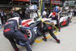 ミシュラン製LMP1用タイヤを履くトヨタTS050ハイブリッド