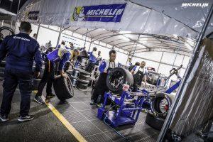 ミシュランはLMP1に参戦する8台に加えて、一部のLMP2カーとGTEプロ、GTEアマの全車にタイヤを供給している