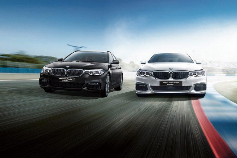 クルマ | スポーティさ際立つ『BMW5シリーズ Mスピリット』を、セダン/ツーリングに設定