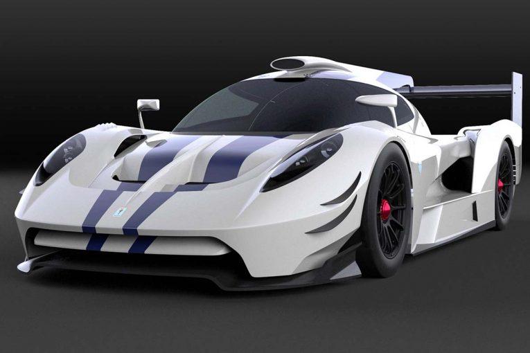2018年7月に公開されたプロトタイプカー『SCG 007 LMP1』