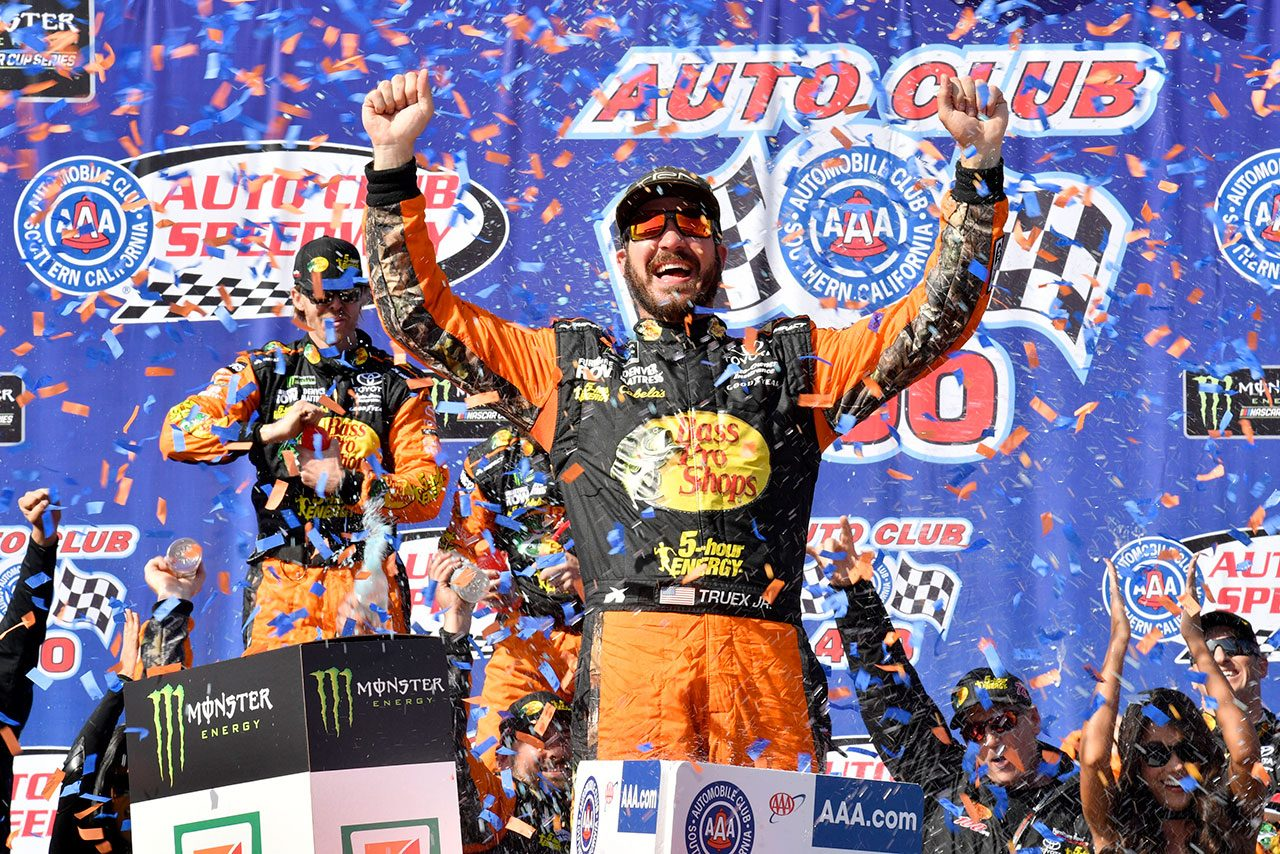 NASCAR:2017年王者のトゥルーエクスJr.、2019年もトヨタ陣営に残留。強豪ジョー・ギブスへ移籍