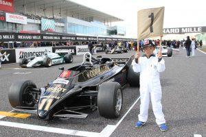 Masters Historic F1 グリッドキッズ