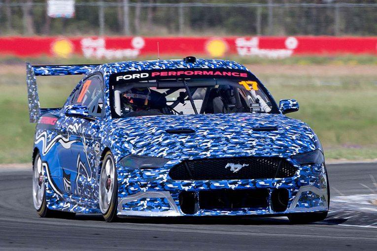 海外レース他   豪州SC:2019年投入『フォード・マスタング』がシェイクダウン。「なによりもルックスが最高」