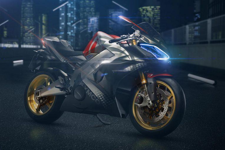 MotoGP | 台湾のバイクメーカー、キムコがEVスーパースポーツ『Super NEX』をミラノショーで発表