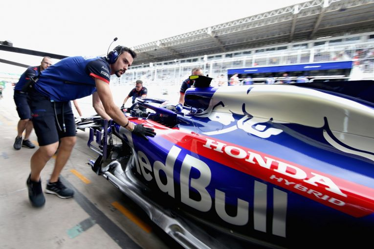 F1 | ホンダF1、ブラジル金曜は旧仕様PUでプログラムを消化「12番手は心強い。天候に臨機応変に対応し、予選で好結果を」と田辺TD
