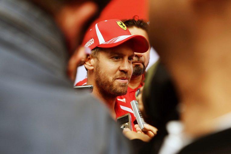 F1 | ベッテル「どこかからネジが外れた以外は順調な一日。ただマシンはまだ完璧ではない」:F1ブラジルGP金曜
