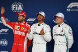 F1 | F1ブラジルGP予選:ハミルトンが0.093秒の僅差でベッテルを下しPP獲得、ガスリーはQ3進出