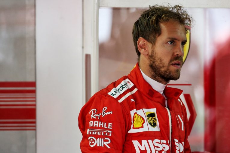 F1 | ベッテルが車重計測の際に問題行動も、グリッド降格を免れる。戒告と320万円の罰金処分に