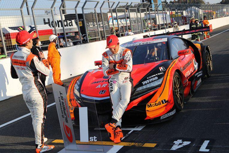 スーパーGT   GT500決勝制したARTA伊沢、野尻が悔しさ吐露。「こういう複雑な思いはもう2度としたくない」