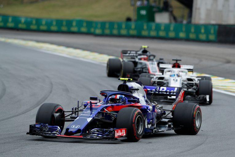 F1   トロロッソ・ホンダF1密着:決勝で苦しんだ原因は、パワーユニットのトップスピード不足か