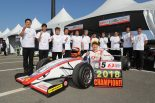 国内レース他 | FIA-F4もてぎ:角田裕毅がシーズン7勝で王座獲得。HFDP初のチャンピオンに
