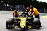 F1 | ヒュルケンベルグ「カルロスとのフェアなバトルは楽しかった」:ルノーF1ブラジルGP日曜
