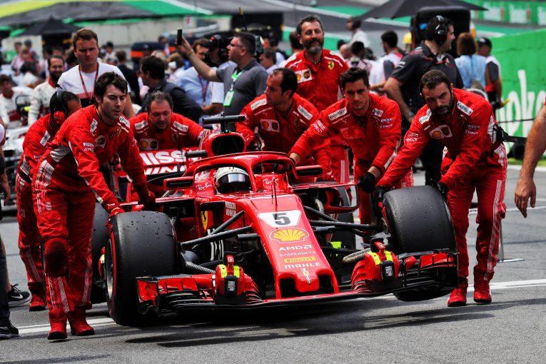 F1 | ベッテル、F1ブラジルGPにおけるパフォーマンス不足の原因はマシンのセンサー不調と判明