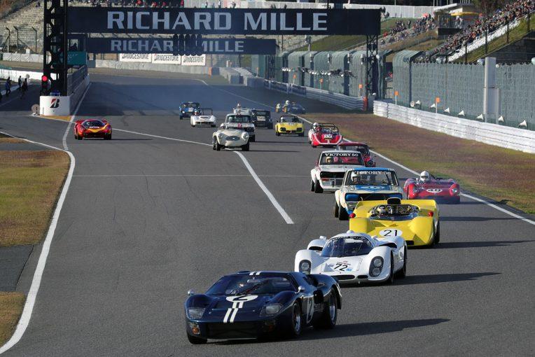 実車を目にできるだけでも激レアなマシンが走行する『60's Racing Machine』(写真は2017年のもの)