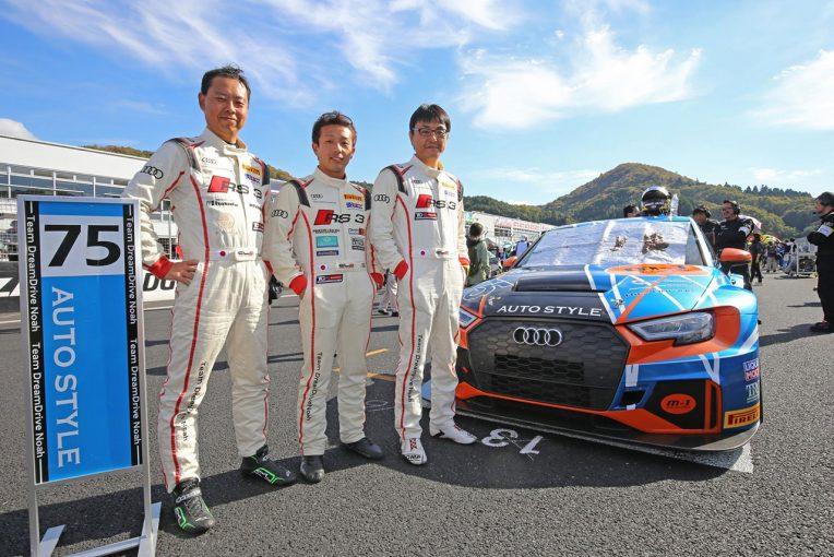 国内レース他   Audi Team DreamDrive Noah 2018ピレリ・スーパー耐久第6戦岡山 レースレポート