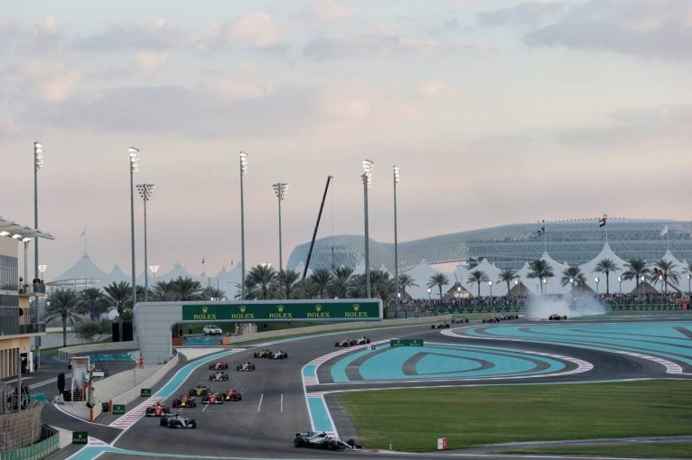 F1 | F1アブダビGP全20人のタイヤ選択:トロロッソ・ホンダがハイパーソフトを最多の10セットチョイス