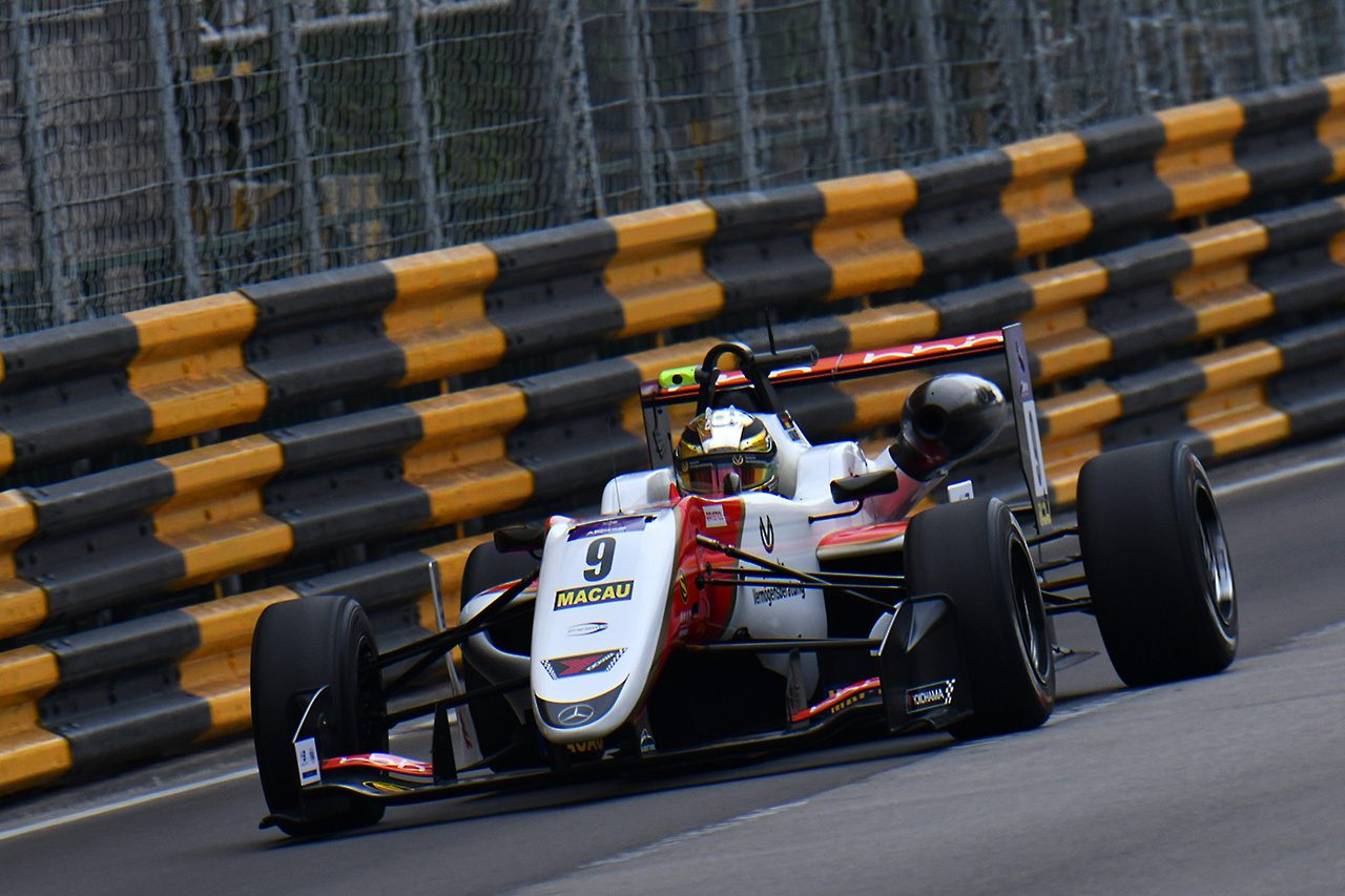 【順位結果】第65回マカオグランプリ FIA F3ワールドカップ フリープラクティス1