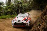ラリー/WRC | WRC:第13戦オーストラリアのシェイクダウンで逆転狙うトヨタのタナクが2番手タイ。オジエ最速