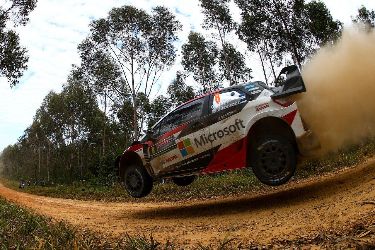WRC:トヨタのタナク、逆転戴冠に向け「リスクを背負ってでも、重要な仕事を成し遂げたい」