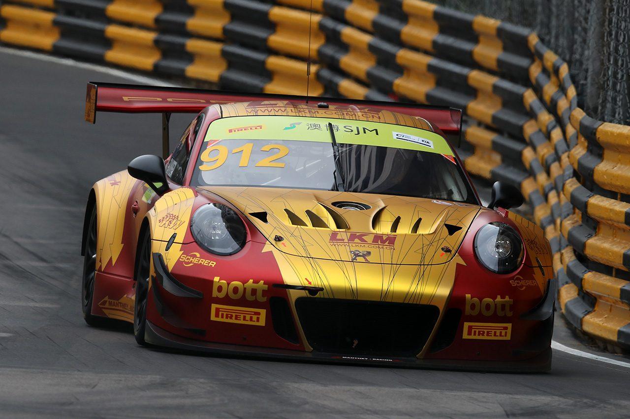 【タイム結果】第65回マカオグランプリ FIA GTワールドカップ フリープラクティス2