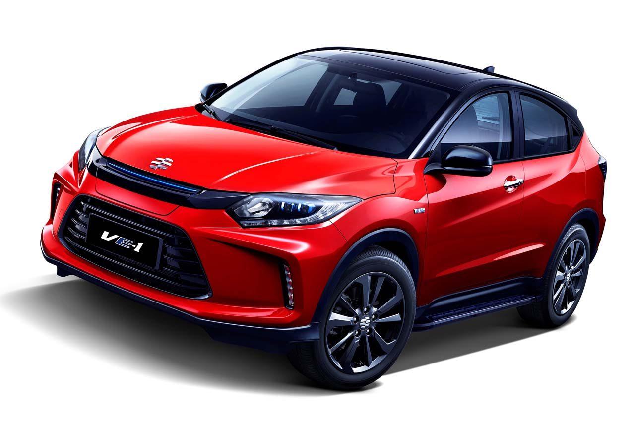 ホンダ、中国向け電気自動車『理念 VE-1』を広州モーターショーで世界初公開