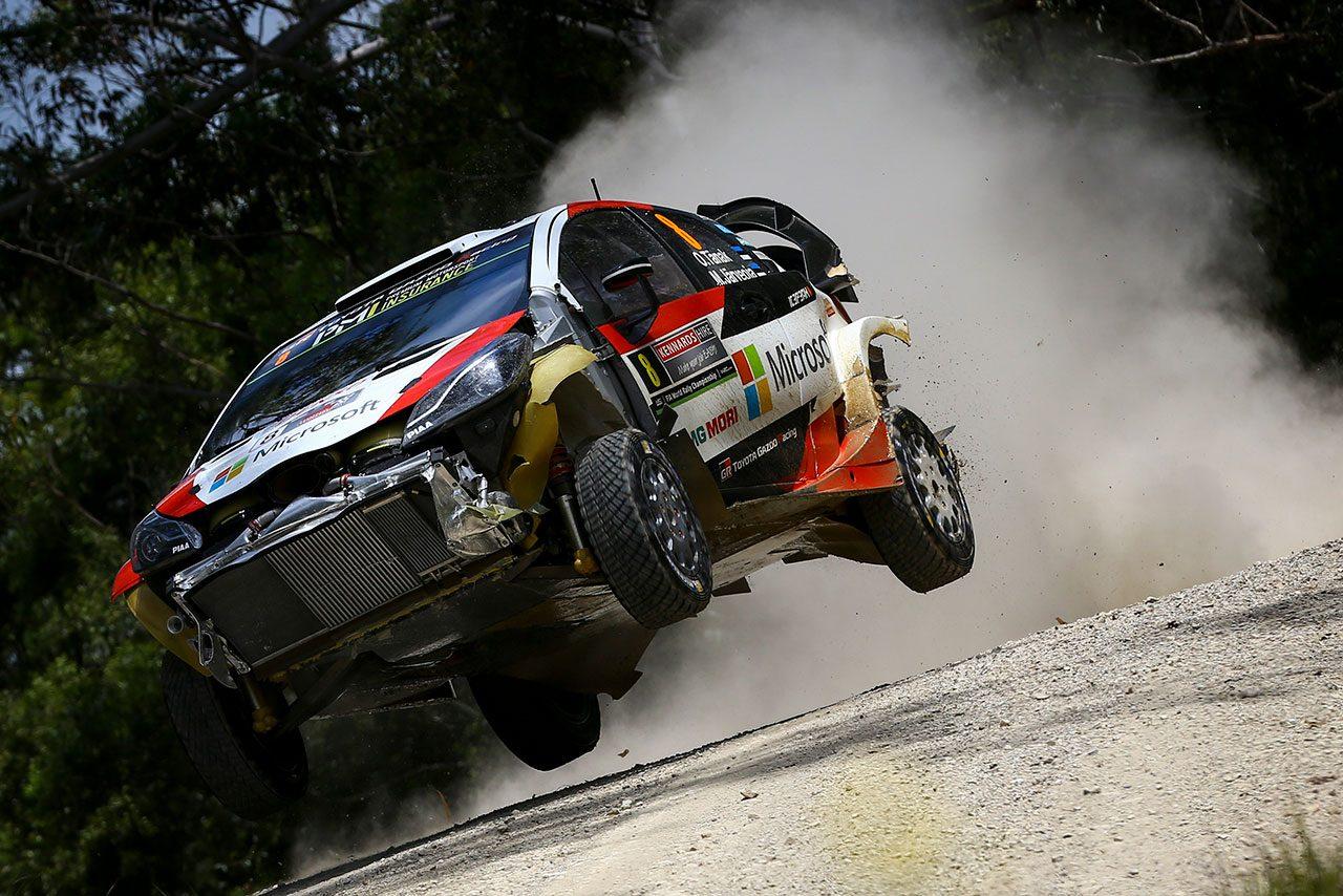 WRCオーストラリア:タイトル争うオジエ、ヌービル、タナクは苦戦。連勝に向けシトロエンが首位発進