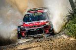 ラリー/WRC | WRCオーストラリア:タイトル争うオジエ、ヌービル、タナクは苦戦。連勝に向けシトロエンが首位発進