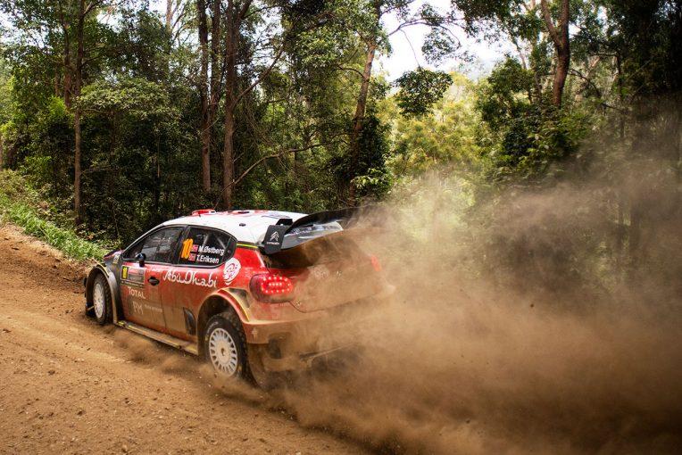 マッズ・オストベルグ(シトロエンC3 WRC)