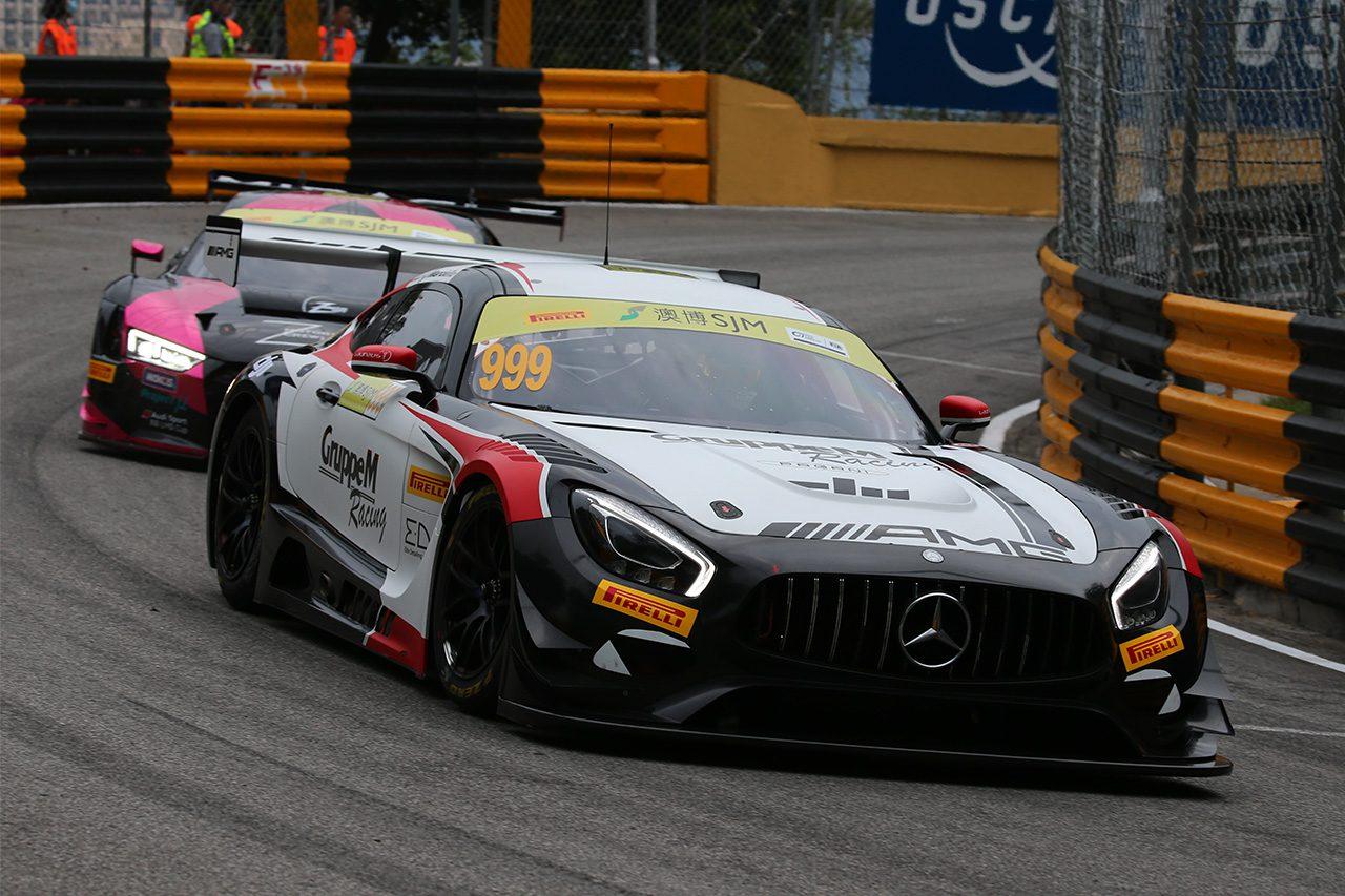 第65回マカオグランプリ:FIA GTワールドカップの予選はマルチェッロ&メルセデスが制す