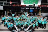 F1   5連覇のハミルトン&メルセデスF1がローレウス賞にノミネート。「世界中の偉大なチームに名を連ねて光栄」