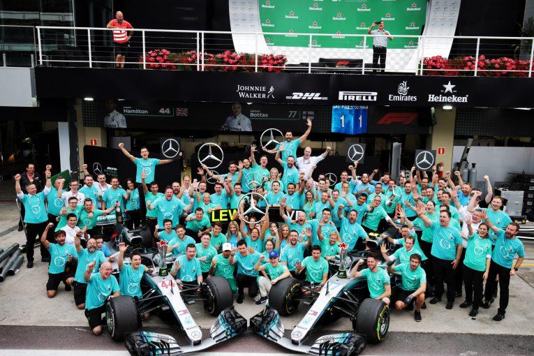F1 | 5連覇のハミルトン&メルセデスF1がローレウス賞にノミネート。「世界中の偉大なチームに名を連ねて光栄」