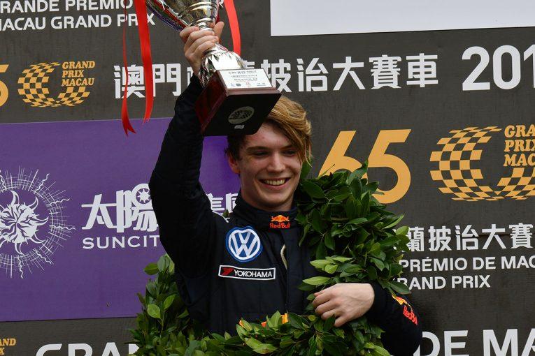 海外レース他 | 第65回マカオグランプリ:F3の予選レースはティクトゥム優勝。エリクソン、アイロットが表彰台