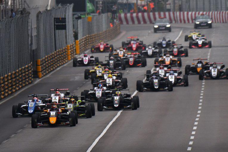海外レース他 | F3マカオグランプリのエントリーリスト発表。新生FIA-F3規定の30台がそろう。日本人は角田が参戦