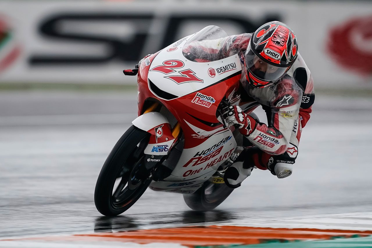 ホンダ・チーム・アジア 2018MotoGP第19戦バレンシアGP 初日レポート